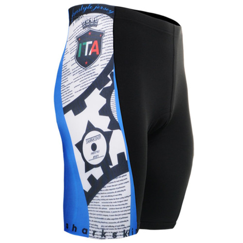 emfraa.com cycling padded tight blue black shorts