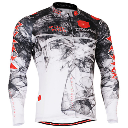fixgear jersey cycling black white shirts