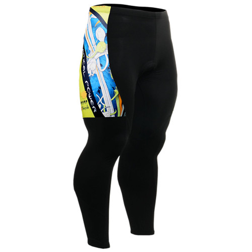 fixgear biking tights pants padded men
