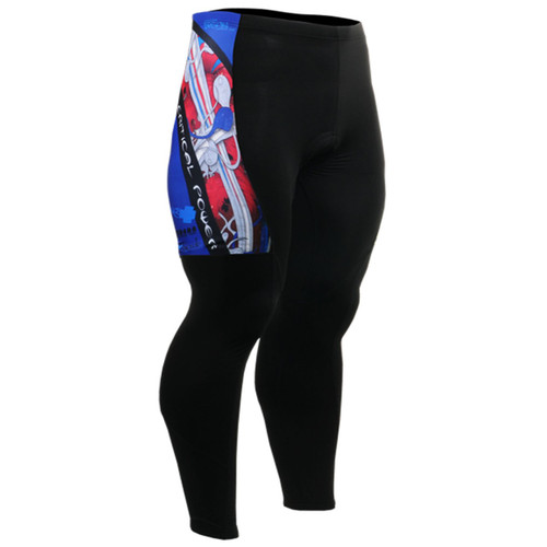 fixgear biking tights pants padded for men