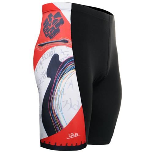 fixgear padded indoor cycling tight shorts for men