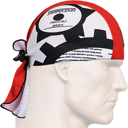 fixgear red-white bandana biker head scarf caps