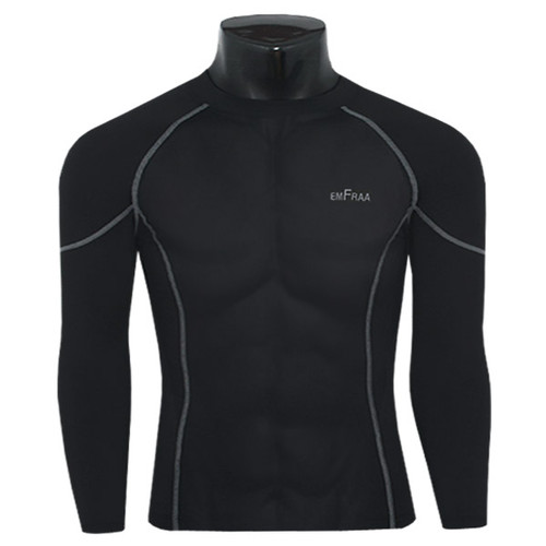 emfraa thermal shirts base layers black for winter
