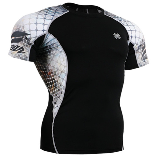 Fixgear printing running tight black white base layer top