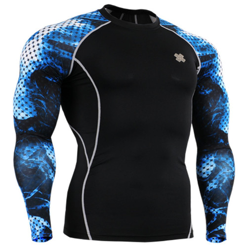 Under garments base layer black blue shirts