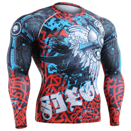 fixgear compression base layer mma sport top