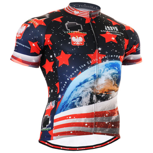 Fixgear earth cycling jersey Short sleeve