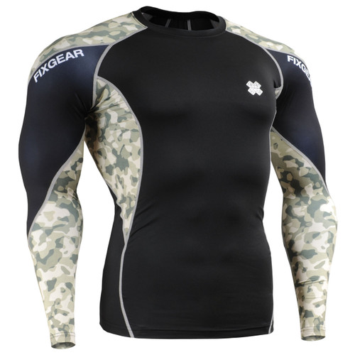 FIXGEAR Compression rash guard top