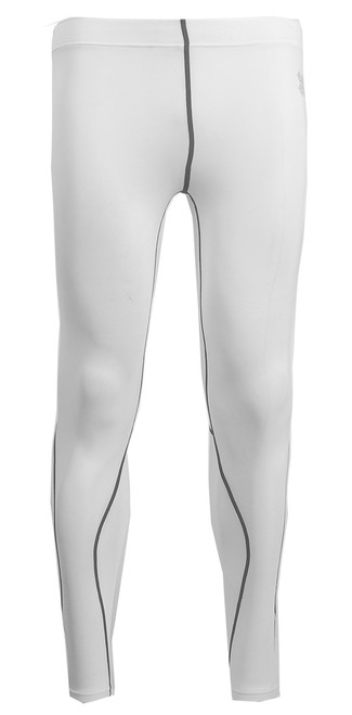 compression white pants