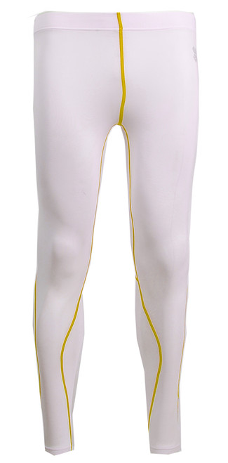 men women compression white pants