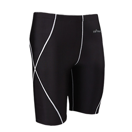 emfraa skin tight under base layer black shorts