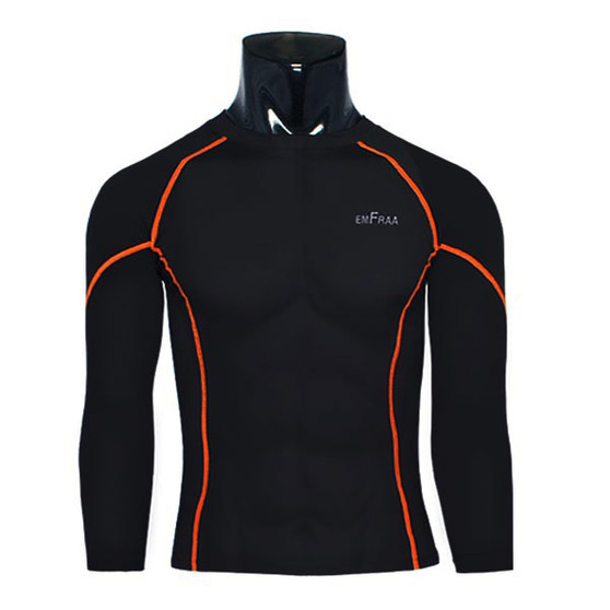 emfraa winter thermal shirts base layer black