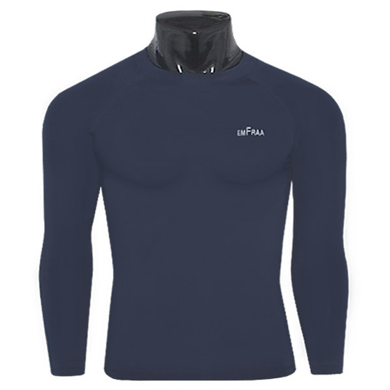 emfraa thermal shirts base layers navy for winter