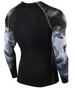Wolves unique design rash guard long sleeve