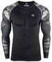 Camo pattern design  compression gear long sleeve