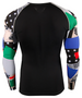 Colorful design Running Activewear Compression Shirt