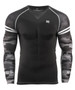 Camo pattern design Compression Tee Long Sleeves
