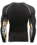 Black&Point Color Design Compression Full Sleeve T-Shirt