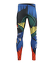colorful &toucan design men's long swim tight fit pants
