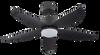 "Crestar Valueair 48""/55"" LED Ceiling Fan - Black"
