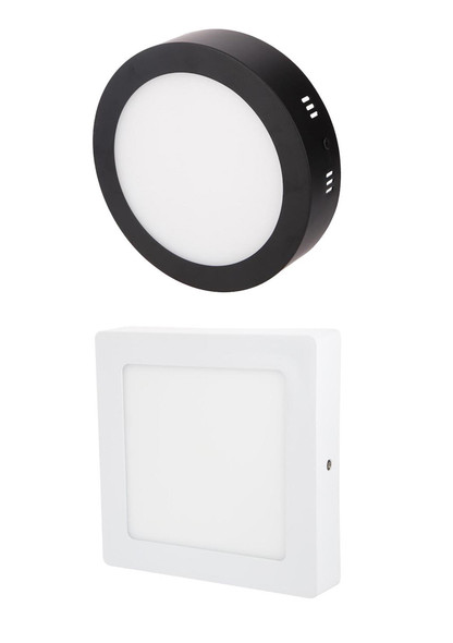 ( Liniq 012 018 024 Surface LED Ceiling Light (White/Black)(Round/Square)