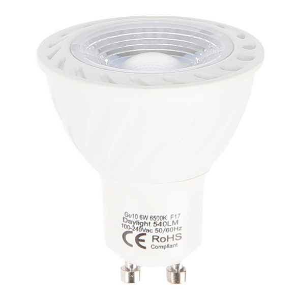 1345/1 Square GU10 Spotlight (White/ Black)