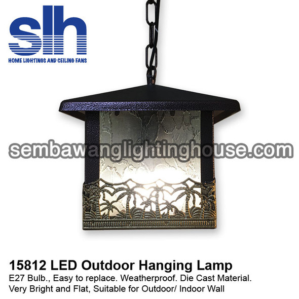 PL5-15812 LED Outdoor Pendant Lamp