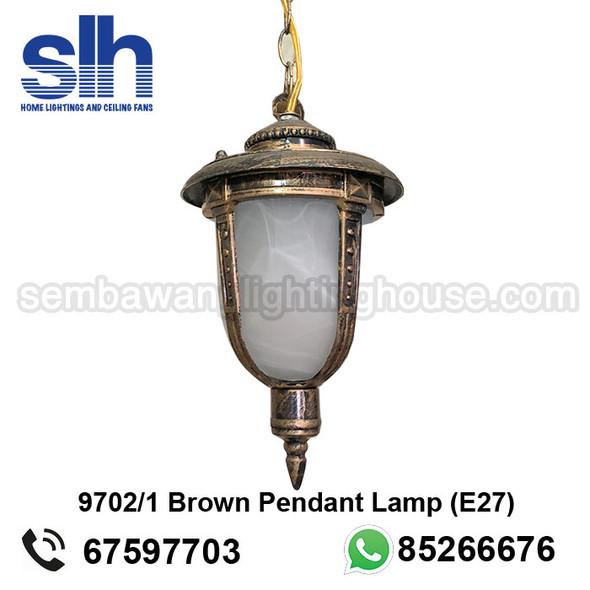 PL5-9702 Brown LED Outdoor Pendant Lamp