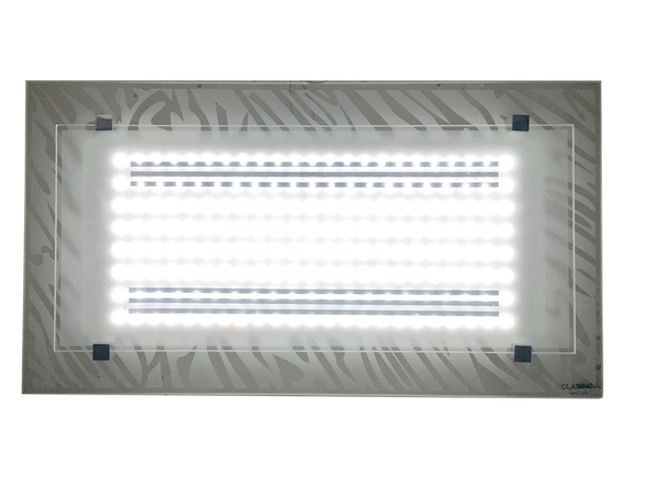 8037 White LED 36W Rectangle Ceiling Lamp