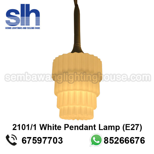 PL4-2101/1 White E27 Lamp