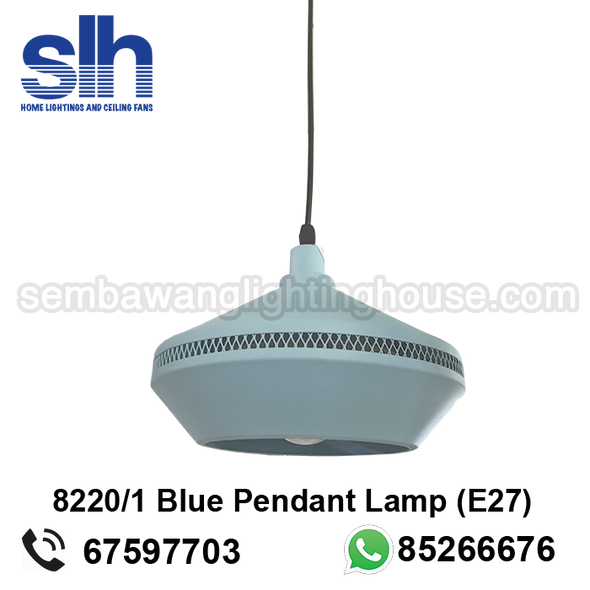 PL6-8220/1 Blue LED Industrial Pendant Lamp