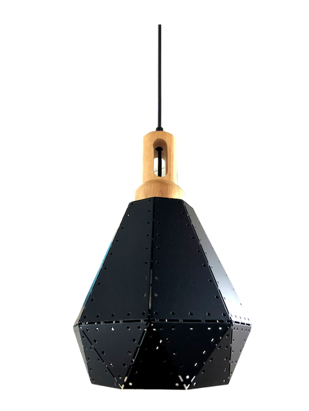 PL6-8614/1 Black E27 Lamp
