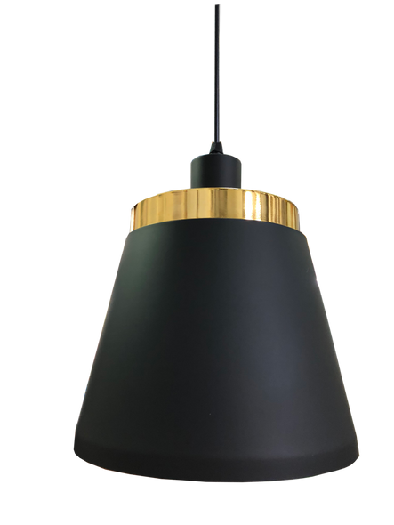 PL4-8228/1 Black E27 Pendant Lamp