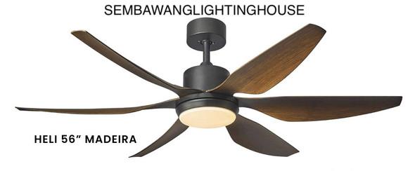 """Fanco Heli 56"""" DC LED Ceiling Fan"""