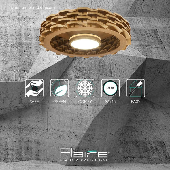 Flaire ERA Bladeless Ceiling Fan