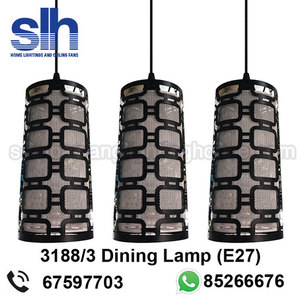 DL4-3188/3 Acrylic LED Dining Lamp