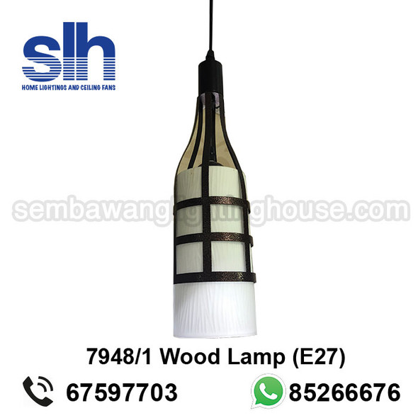 PL1-7948 Brown Pendant Lamp