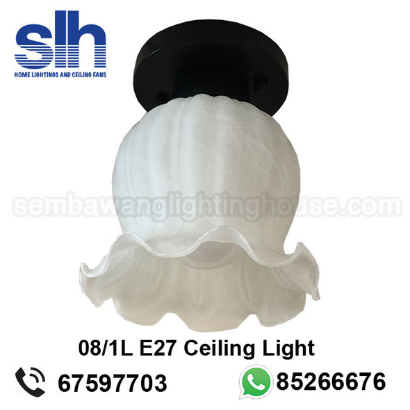 CL4 08 Flower E27 Ceiling Lamp