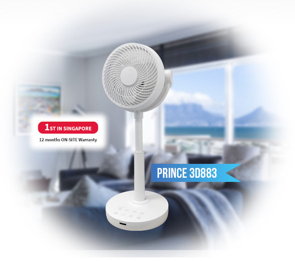 Samaire Stand Fan Prince 3D883