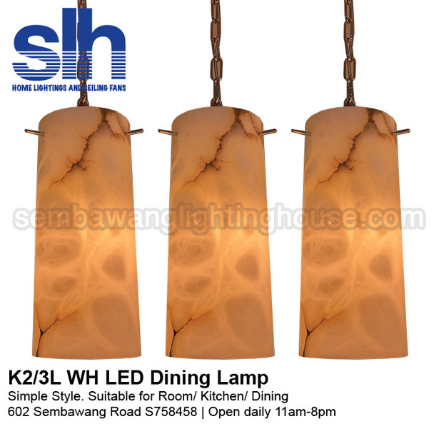 DL6-K2/3 Marble LED Dining Lamp