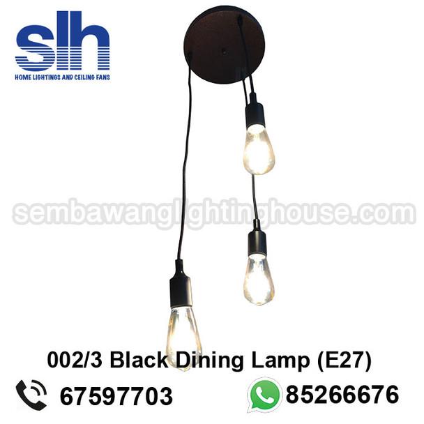 acrylic dining lamp
