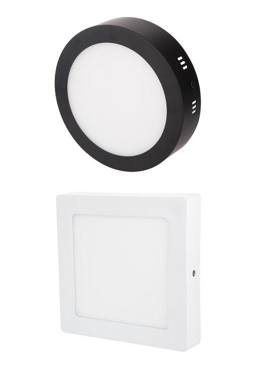 ( Liniq 012 018 024 Surface LED Ceiling Light (White/Black)(Round/Square)