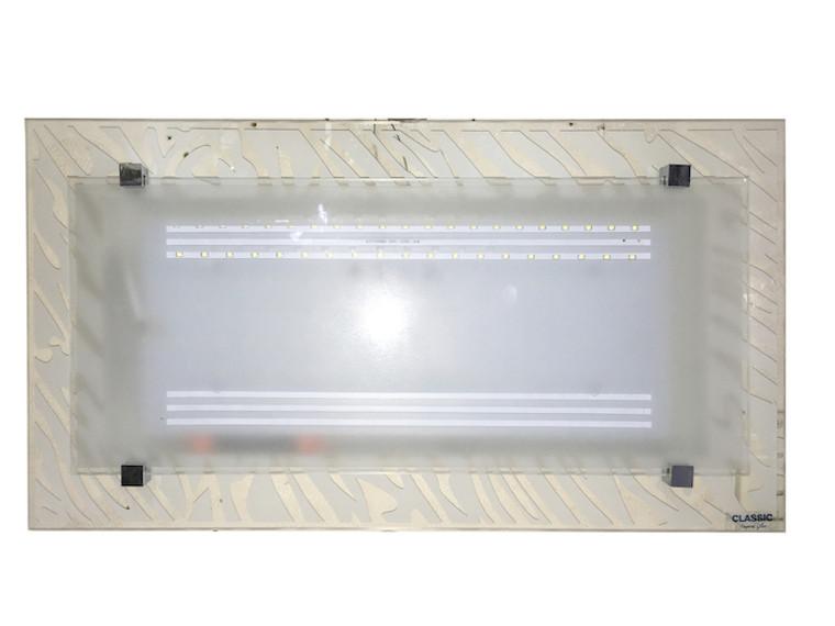8037 White LED 36W Rectangle Ceiling Lamp