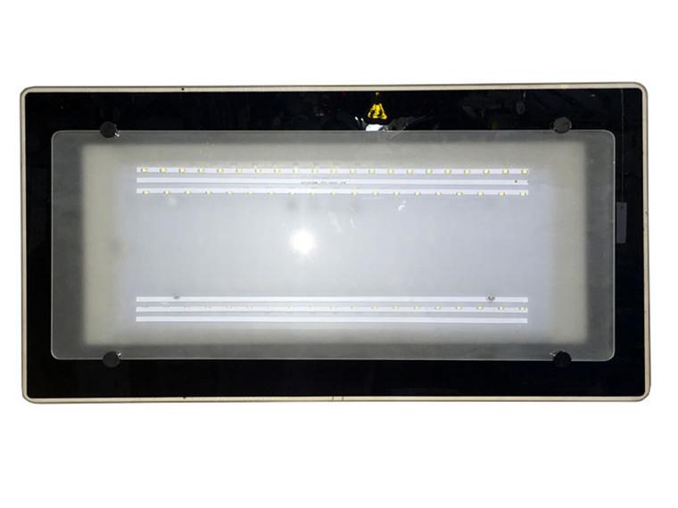 8031 Black Rectangle LED 36W Ceiling Lamp