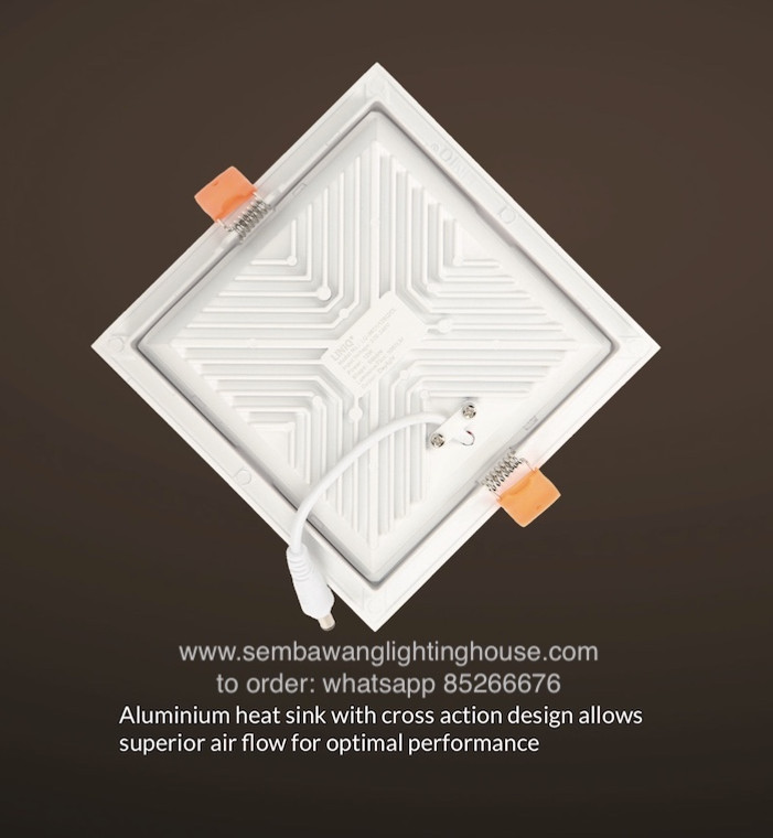 Aluminium heatsink to dissipate heat fast