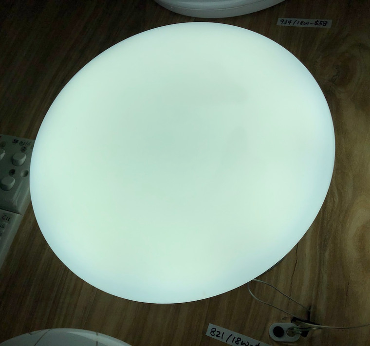 821 Plain White Acrylic Ceiling Lamp (190/260/380mm)