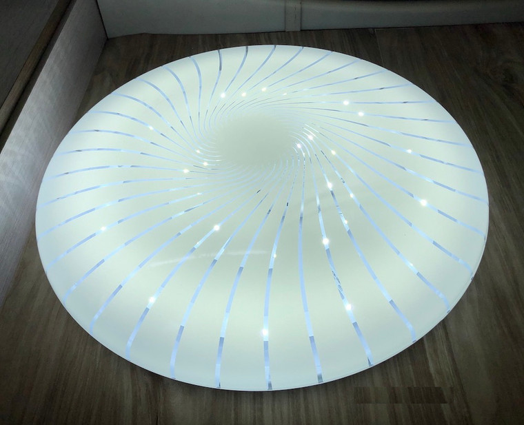 631-500mm White Acrylic Ceiling Lamp
