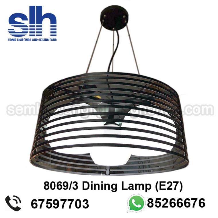 DL2-8069 LED E27 Drum Lamp