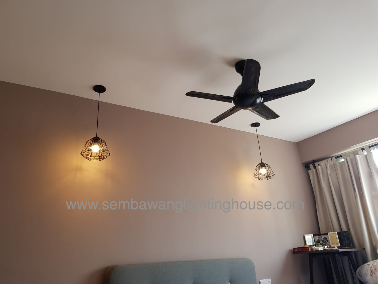 12-led-bedside-pendant-and-ceiling-fan-condo-sembawang-lighting-house.jpg
