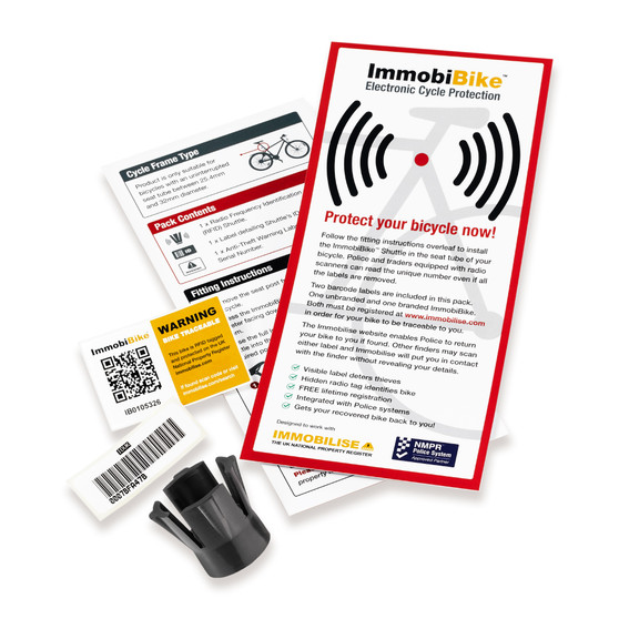 ImmobiBike RFID Tag bundle (Non retail Package)